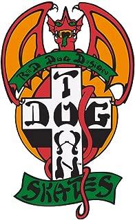 Dogtown Skates Autocollant pour Skateboard Motif Eric Dressen Pup 11 cm de Haut