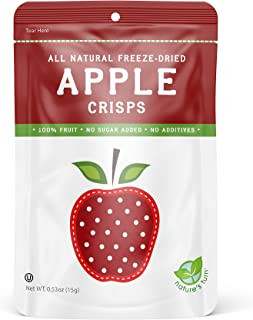 Nature's Turn Freeze-Dried Fruit Snacks - Apple - 6 Pack - Perfect For School Lunches or a Healthy On-The-Go Snack - 100% ...