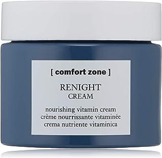 [ comfort zone ] Renight Cream | Complete, Silicone-Free Restorative Night Cream for All Skin Types with Hyaluronic Acid & Vitamin E, 2.02 fl. oz