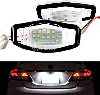 Universal Motorcycle Motorbike LED License Plate Light Rear Tail Lamp White Yctze Motorcycle License Plate Light,12V