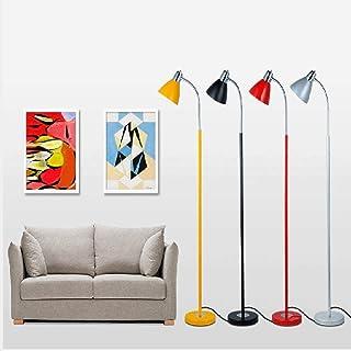 GQQ Lampadaire, Lampadaires, Lampadaire Led, Fer À Repasser Lampe D'Étude de Salon Créatif Lampe de Lecture de Style Verti...