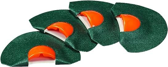 Carlton's Calls by Hunters Specialties Elk Arsenal Tone Trough Diaphragm, (4 Pack)