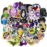 SHIHE Anti-Character Animation Set Decal Luggage Car Refrigerator Skateboard Phone Graffiti Stickers 50 Pcs