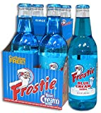 Frostie Blue Cream Soda, 12 Ounce (4 Bottles)