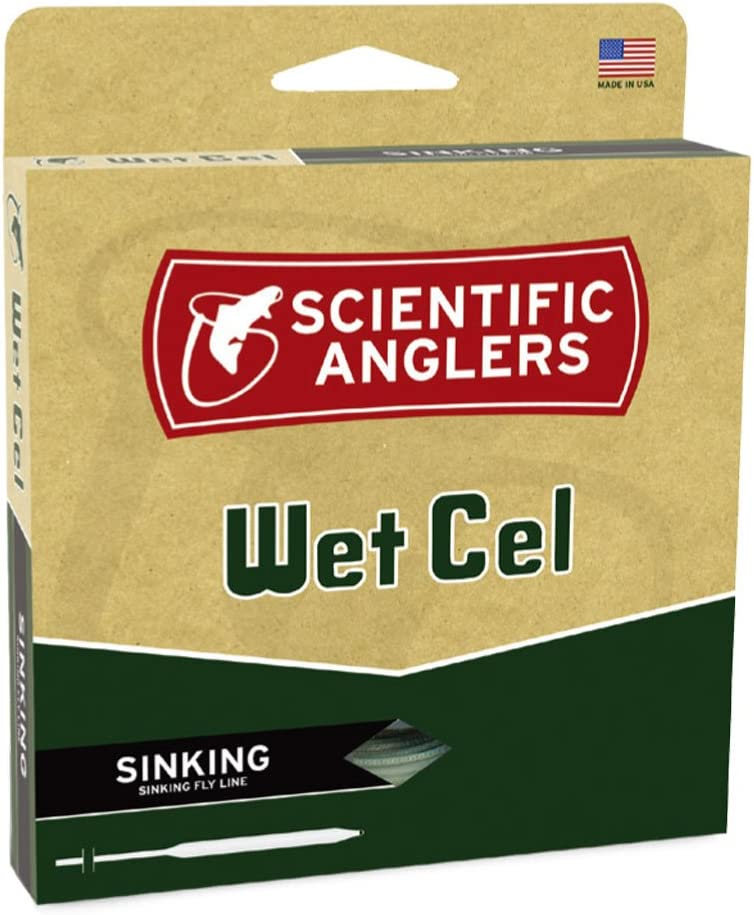 Manufacturer direct delivery Scientific Anglers Wetcel Type II General Cheap mail order shopping Sinking Lines Purpose