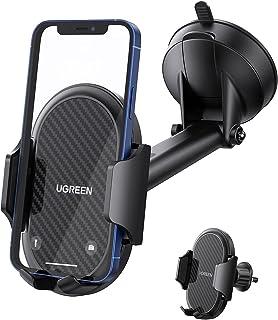 UGREEN Auto Telefoonhouder Zuignap Dashboard Voorruit Ontluchter Phone Car Holder Lange Arm Compatibel met iPhone 13 Pro M...