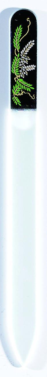 タウポ湖スリム怠な橋本漆芸 ブラジェク製高級爪ヤスリ 四月 藤 OPP