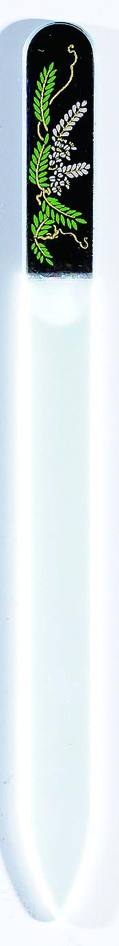 パイ参照する着陸橋本漆芸 ブラジェク製高級爪ヤスリ 四月 藤 OPP