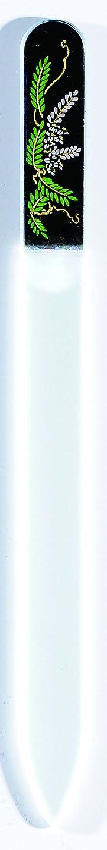 変色する症状ディンカルビル橋本漆芸 ブラジェク製高級爪ヤスリ 四月 藤 OPP