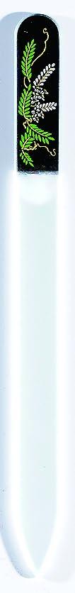 機密爆弾歯科医橋本漆芸 ブラジェク製高級爪ヤスリ 四月 藤 OPP