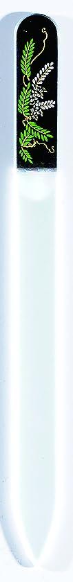 多くの危険がある状況日光旋律的橋本漆芸 ブラジェク製高級爪ヤスリ 四月 藤 OPP