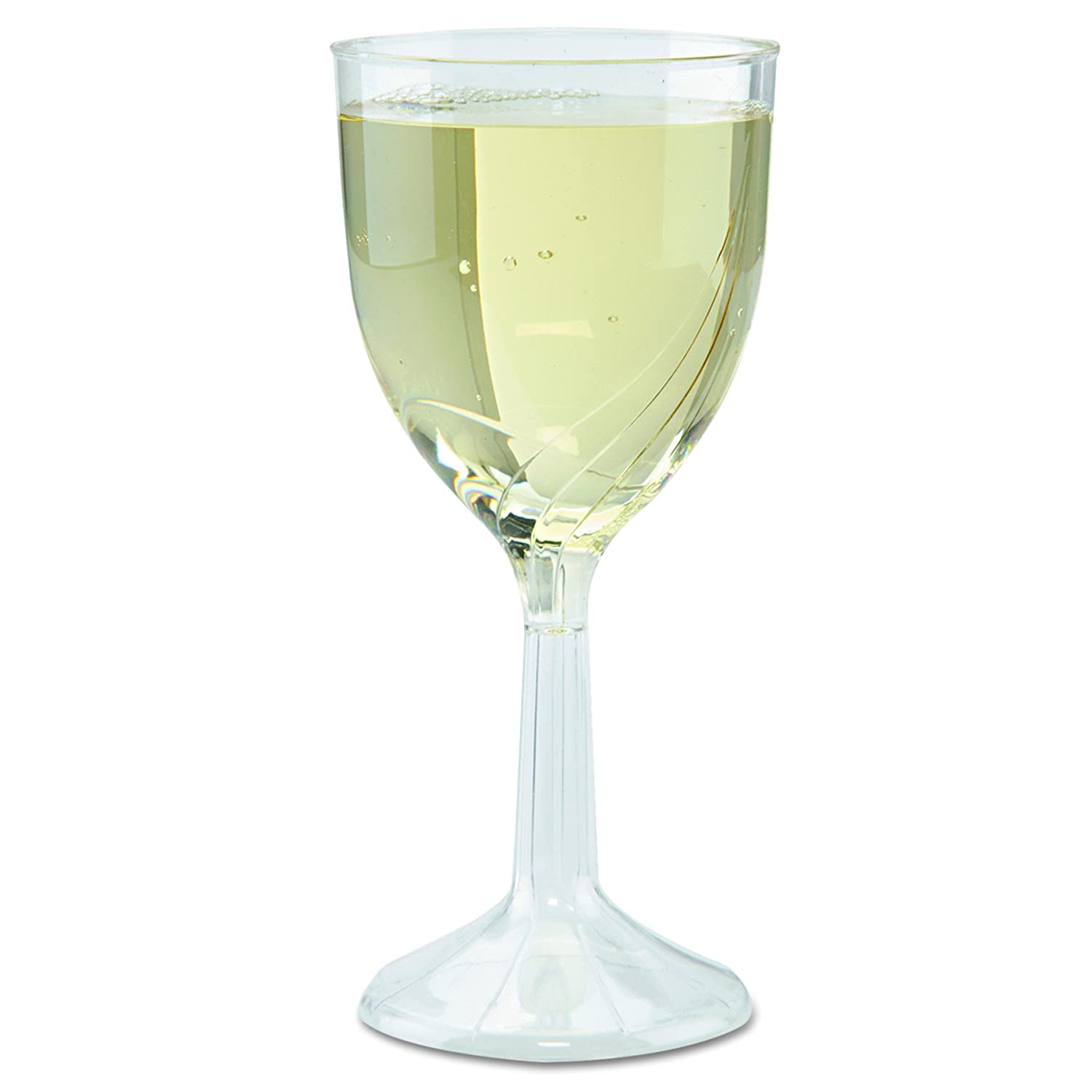 WNA CWSWN6 2021 spring and summer new Classicware One-Piece Wine High quality new Glasses 8 oz. 6 Clear
