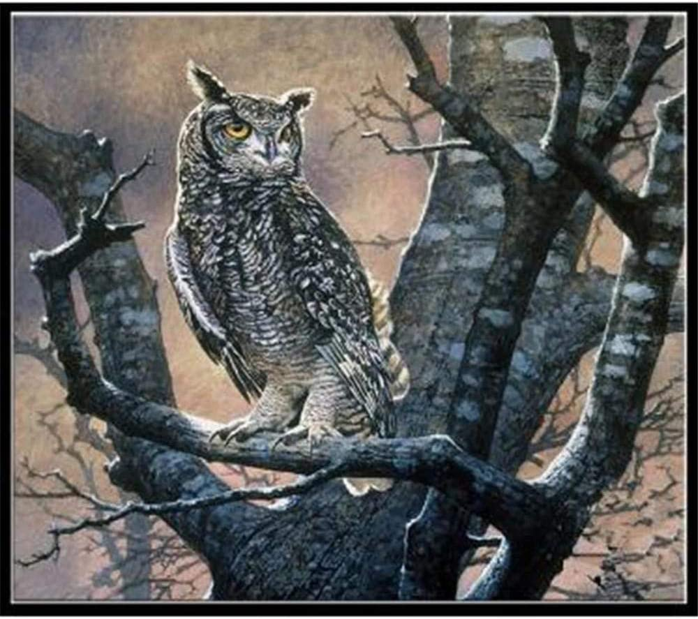 6000 Piece Wooden Jigsaw Max Don't miss the campaign 41% OFF Puzzles Christmas Black Puzzle owl Game