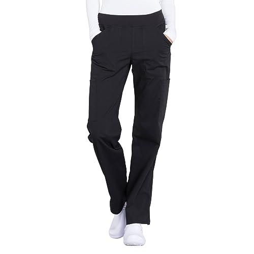 19489f76d7b Cherokee Workwear Professionals Mid Rise Straight Leg Pull-on Cargo Scrub  Pant