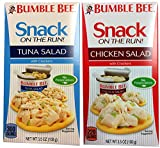 Bumble Bee Tuna Salad & Chicken Salad 3.5 Ounce (Variety Pack of 12)