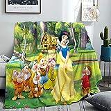 Dis.ney Heroine Kuscheldecke Grau Decke Sofa weiche warme Fleecedecke als Sofadecke/Couchdecke kuschel Wohndecken Kuscheldecken flaushig & plüsch Sofaüberwurf (02,60x90cm)