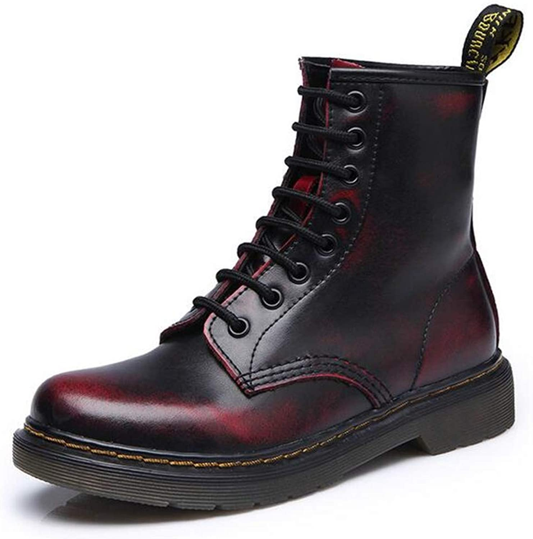 WUIWUIYU Unisex Adults' 240050H Boots Red Size  8