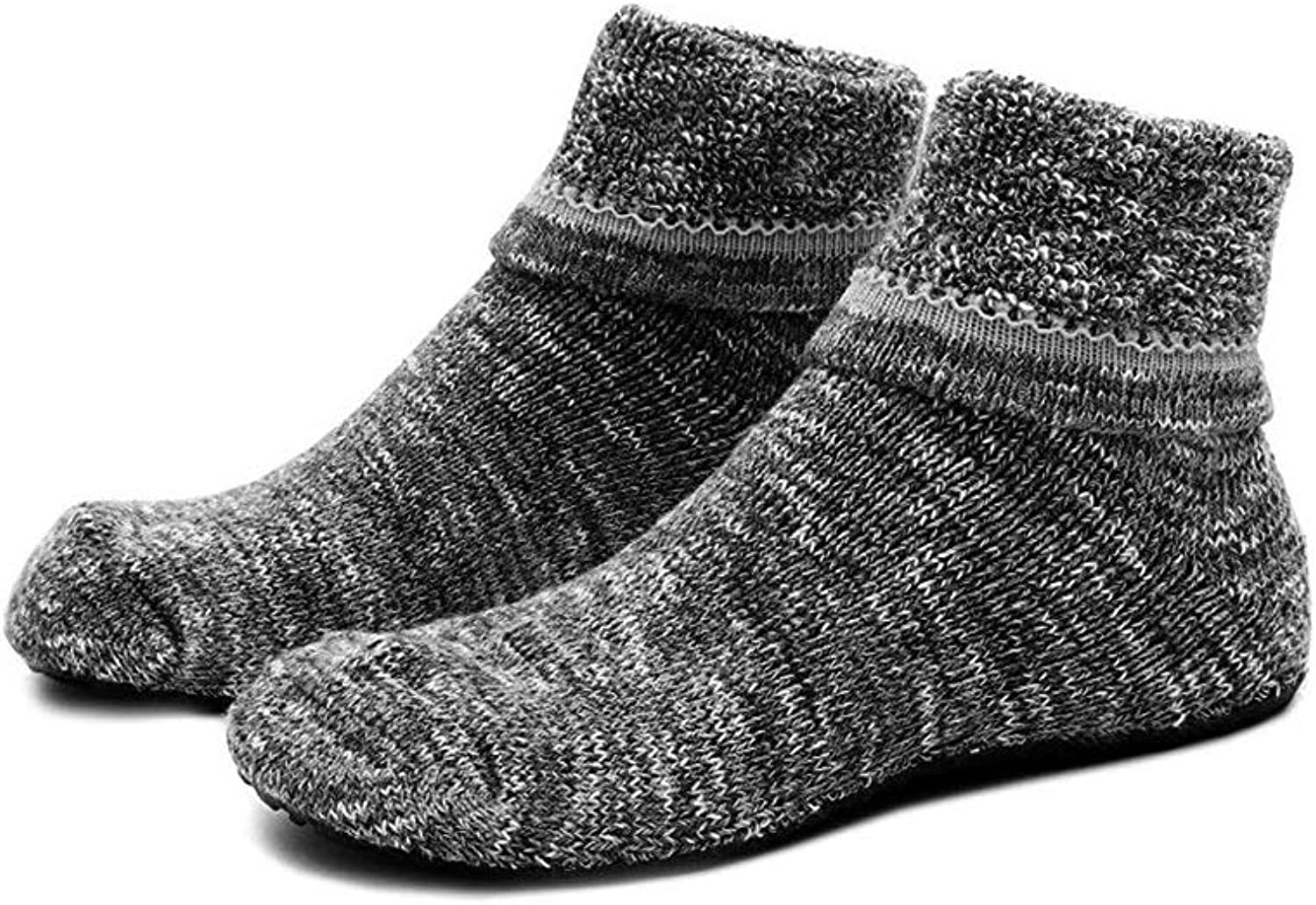 Womens Slipper Socks Cozy Indoor Socks Winter Warm Thicken Floor Socks, Size 4-9.5