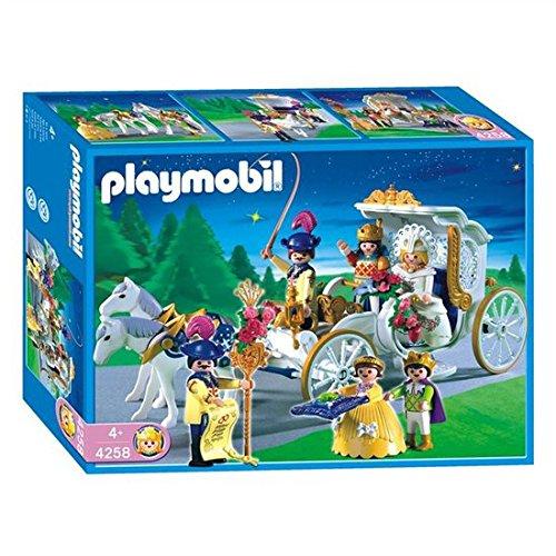 Playmobil Royal Carriage Spielfiguren für Kinder, Kunststoff, 4 Stück, Mehrfarbig