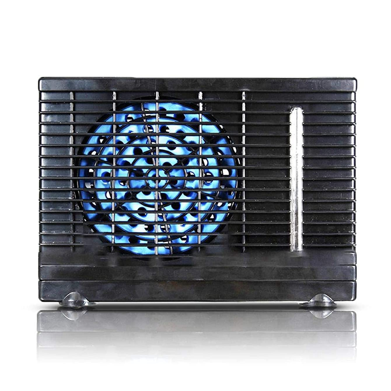 Portable Air Cooler,12V Auto Air Conditioner Fluoride-Free High-Low Speed Adjustable Fan Personal Cooler Ultra Compact Evaporative Coolers for Car, Home, Office, Camping