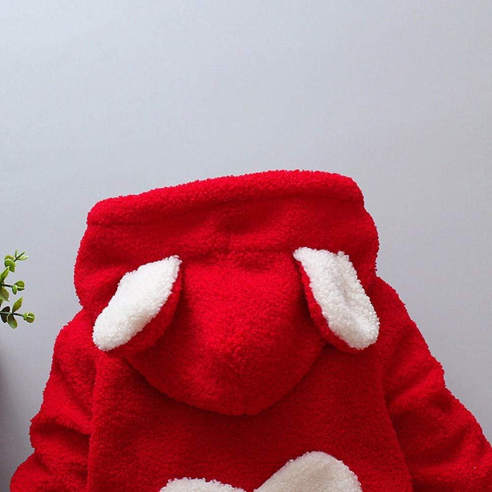 Longra Baby Kinder Herbst Winter Jacke Mantel Wollmantel mit Ohr Kapuze /übergangsmantel Steppmantel Langer Mantel Baby M/ädchen Winterjacke Prinzessin Fleecejacke Teddyjacke