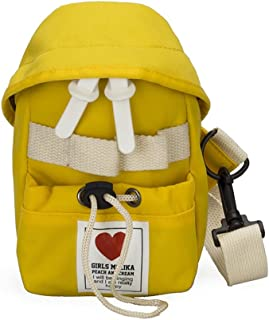 Leng QL Personality Backpacks Children's Accessories Love Messenger Bag Toddler Toy Backpack(Yellow)