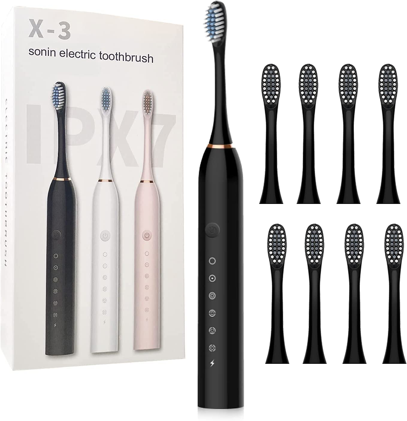 Electric Toothbrush for Superlatite Adults Online limited product USB Sonic T Powerful Rechargeable