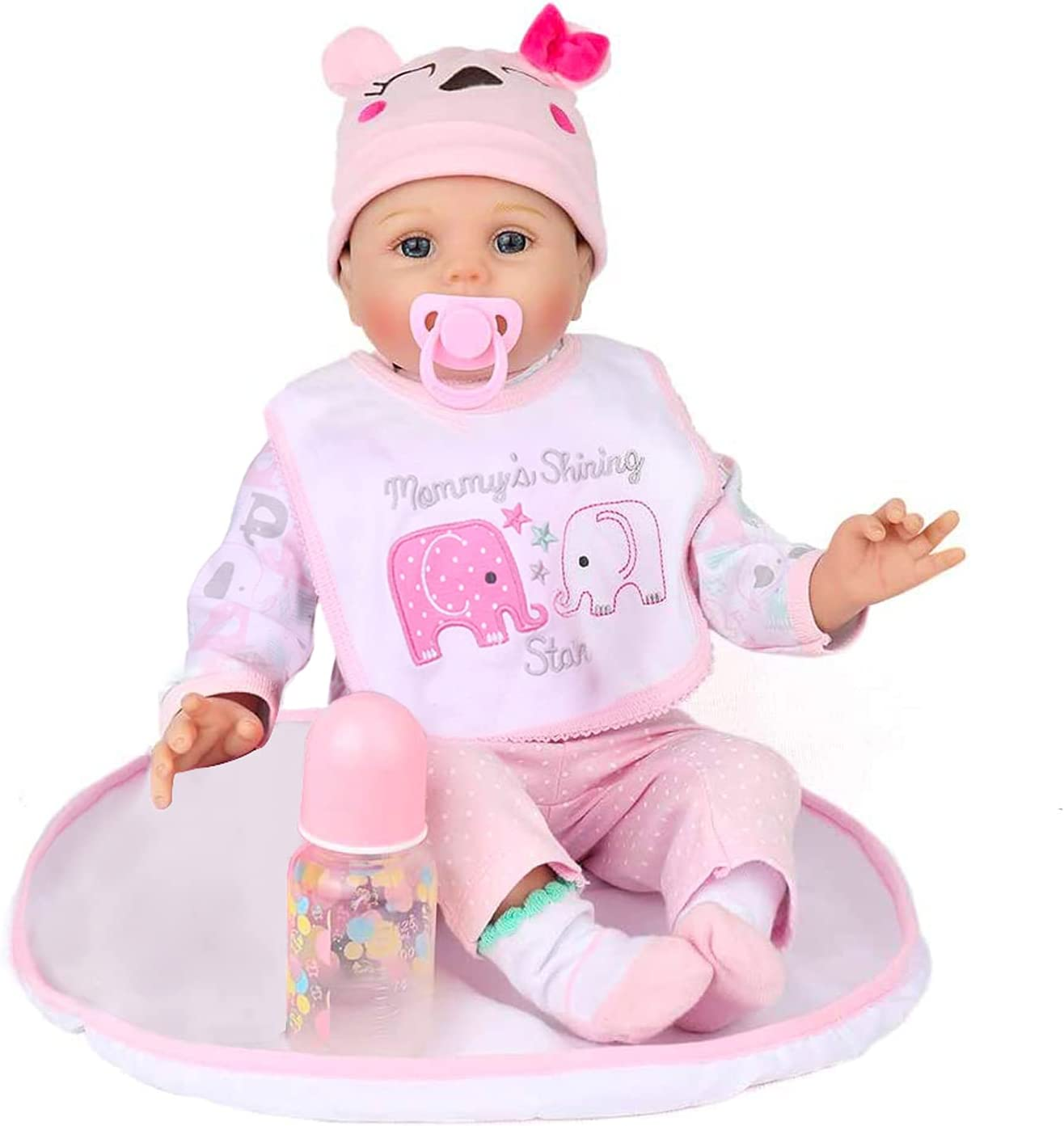 Kaydora Reborn SEAL limited product Baby Doll Girl 22 Body inch Cute Ranking TOP6 Soft Weighted