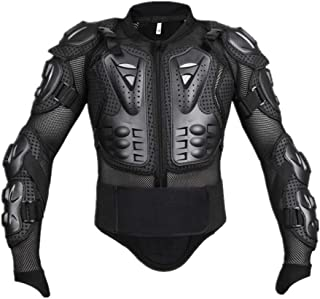 Allywit Motorcycle Full Body Armor Jacket Motocross Racing Chest Motocross Protective Shirt