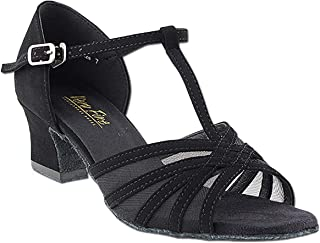 Women's Ballroom Dance Shoes Salsa Latin Practice Shoes 16612EB Comfortable-Very Fine 2