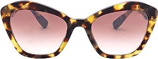 Luxury Fashion   Miu Miu Womens MU05US7S0QZ9557 Brown Sunglasses   Fall Winter 19