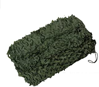 Outdoor Visor Camouflage Net/Camouflage net Garden Green Woodland Camouflage Net Camp Hidden Party Decoration (Size : 2x4m...