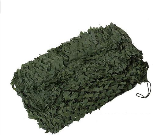Ljdgr Filet Camo Visière Extérieure GR Filet de Camouflage Garden vert Woodland Camouflage Net Camp Hidden Party Decoration (Taille  2x4m) Armée Camo Filet (Taille   8x8m)