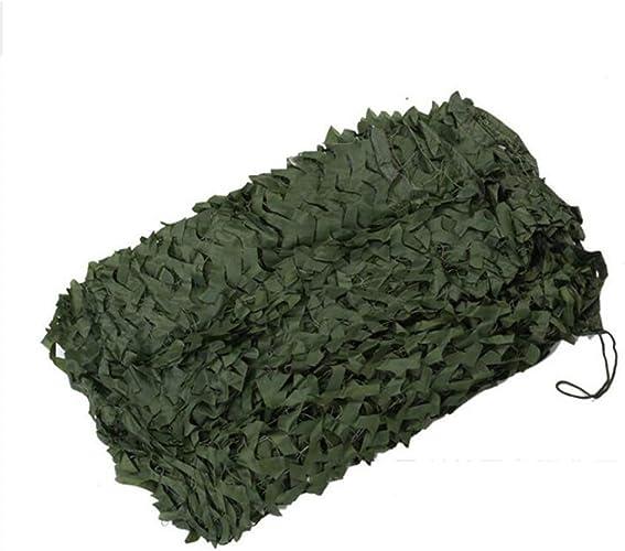 Ljdgr Filet Camo Visière Extérieure GR Filet de Camouflage Garden vert Woodland Camouflage Net Camp Hidden Party Decoration (Taille  2x4m) Armée Camo Filet (Taille   8x10m)