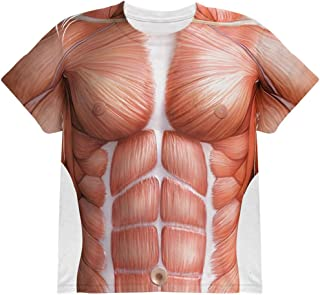 Halloween Muscle Anatomy Costume All Over Youth T Shirt