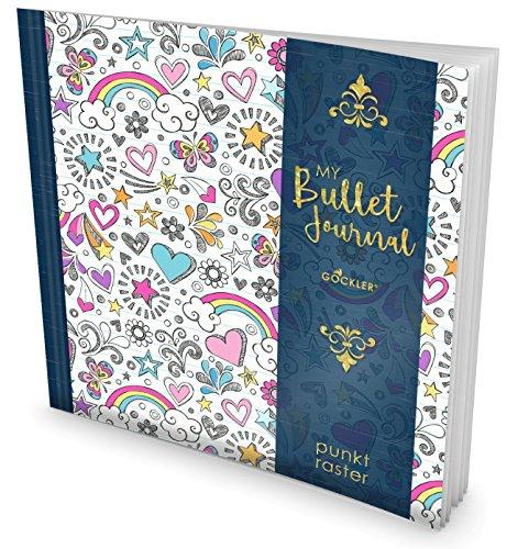 GOCKLER My Bullet Journal: Punktraster Notizbuch mit 100+ Seiten    Inkl. Register, Seitenzahlen,...