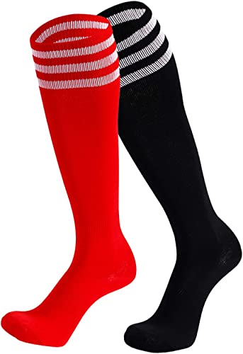 One Pair Christmas Hot Air Balloon Knee High Socks Casual Stockings Comfortable Novelty Sports Socks Size 6-10