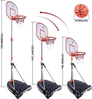 Pared Cesta de Baloncesto para ni/ños Mini Canasta de Baloncesto con acoplador de Contador para ni/ños Outdoor//Indoor Lommer Canasta