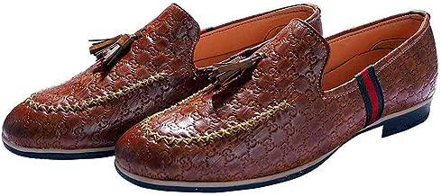 Hush Berry The Vintage Royal Tassel Loafer Shoes for Men