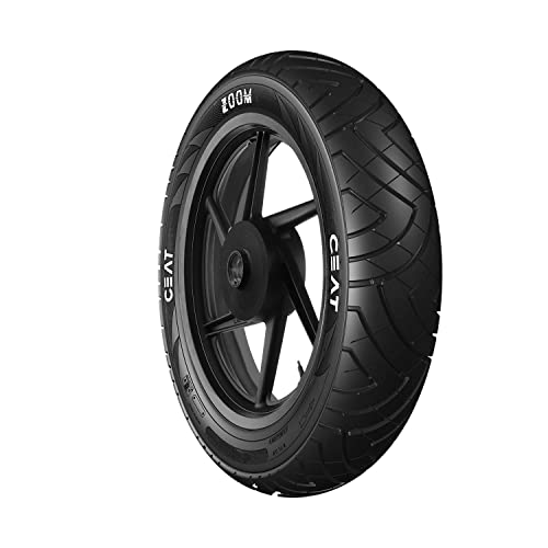Ceat Secura Zoom 2.75-17 41P Tube-Type Bike Tyre, Front (Home Delivery)