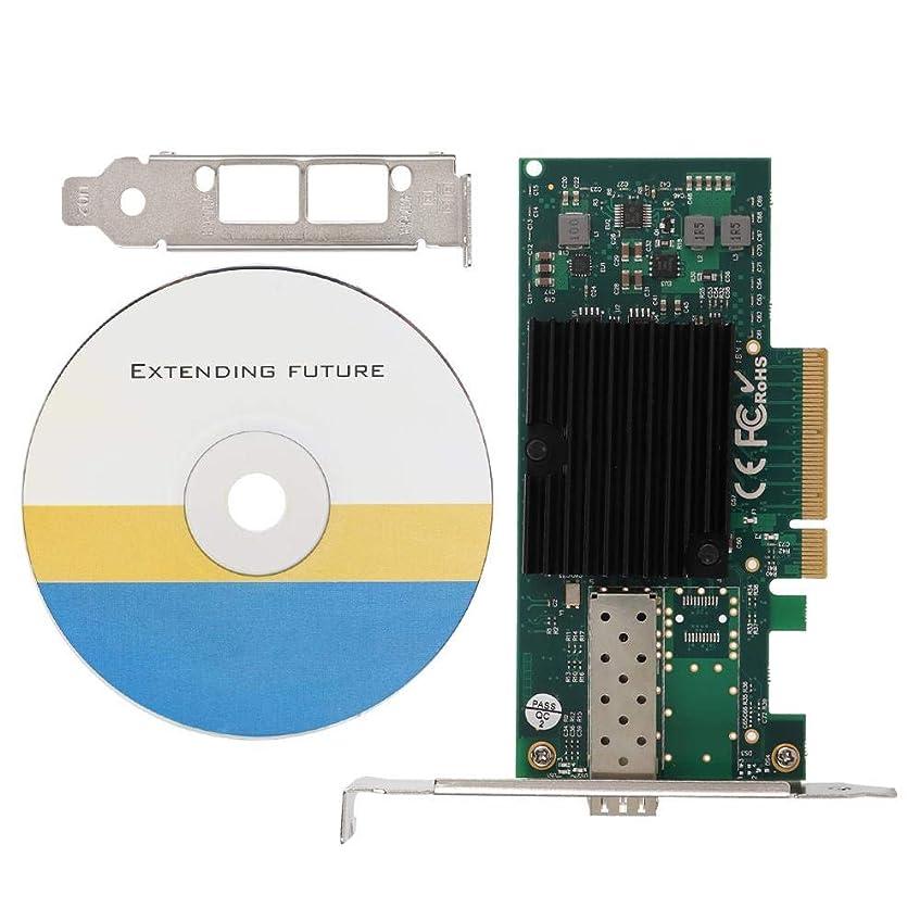 肩をすくめる価値指定PCI-E X8イーサネットNIC、信頼性の高いNIC、第3世代Intel 10ギガビットネットワークコントローラー用の統合ネットワーク