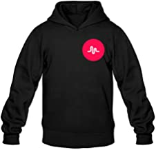Special Red Musically Music Classic Men's Hooded Hoodies