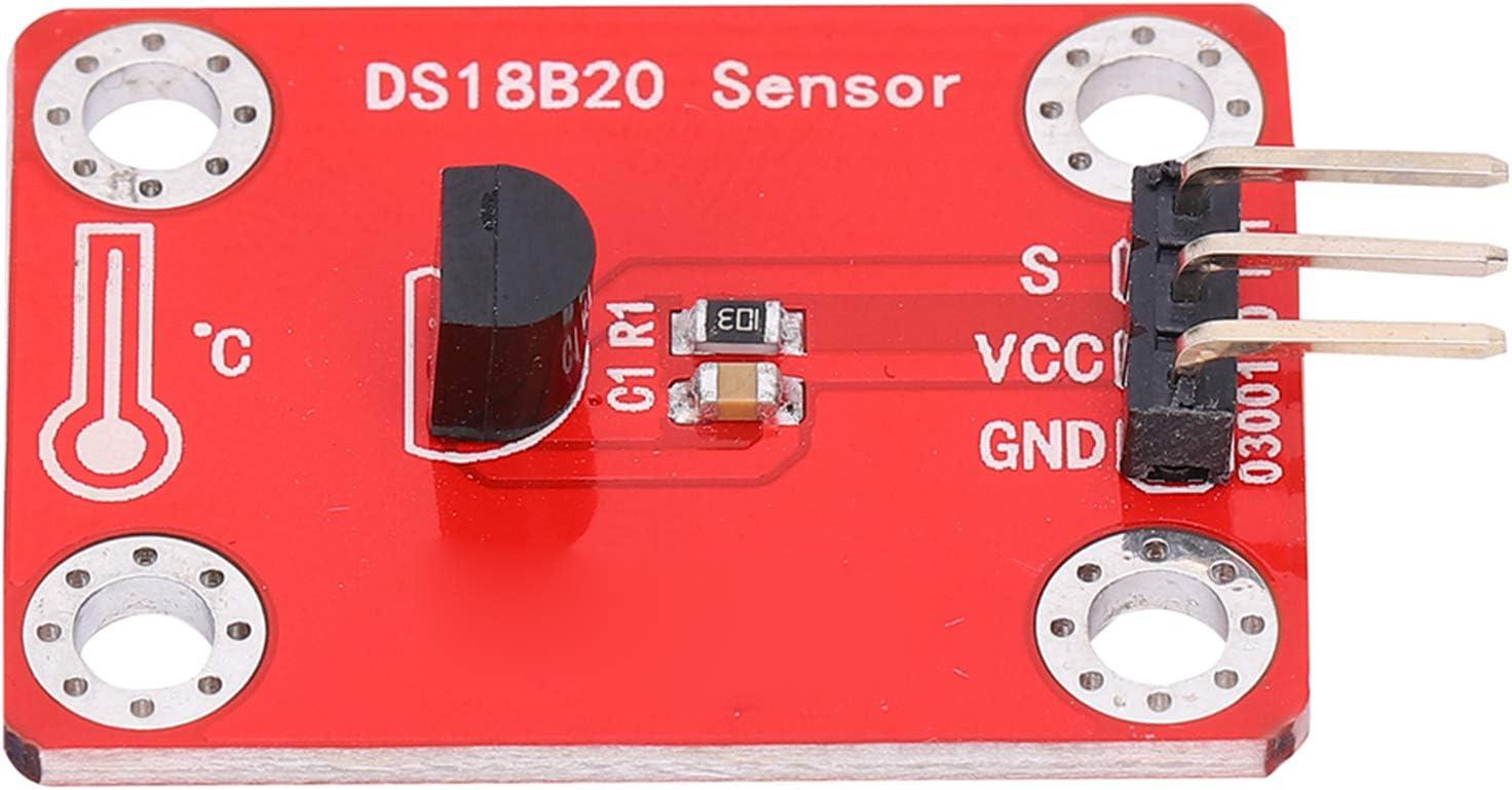 PUSOKEI Temperature Sensor Max 74% OFF Module 3.3-5V Digital Sacramento Mall Hu