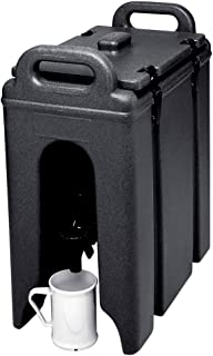 Cambro 250LCD-110 Black 250LCD110 2.5 Gal. Beverage Camtainer