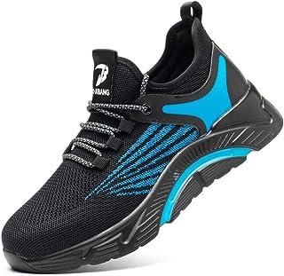 Safety Shoes Men Women Steel Toe Cap Trainers Lightweight Work Sneakers Breathable Industrial Shoes Work Utility Footwear ...