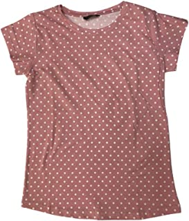 Veronica Ladies Blouse Pink polka dots