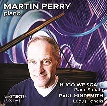 Hugo Weisgall: Piano Sonata; Paul Hindemith: Ludus Tonalis [Martin Perry] [Bridge Records: BRIDGE 9487]