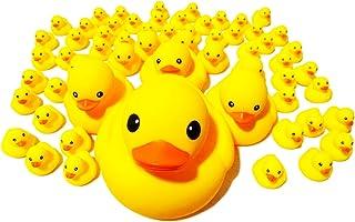 アヒルの親子 ウキウキ 60個入り お風呂が楽しい 【 動物のおまけ3個付き 】