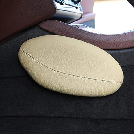 Wisedwell Beinstütz Kissen Auto Knie Kissen Universal Autositzkissen Leder Bein Kissen Kniepolster Oberschenkel Stütz Kissen Auto