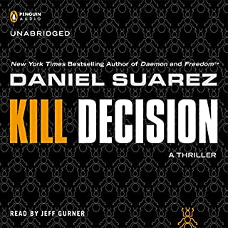 Kill Decision audiobook cover art